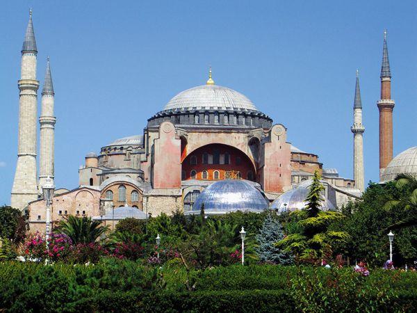 Αγια Σοφιά Κωνσταντινούπολη
