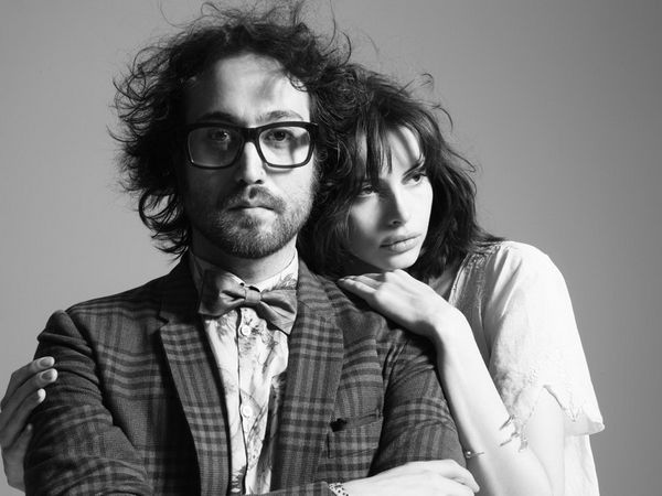 Sean Lennon and Kemph Muhl