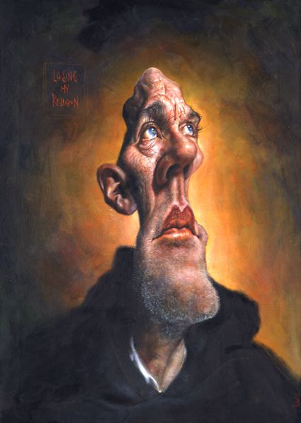 Caricaturist Ernesto Perez
