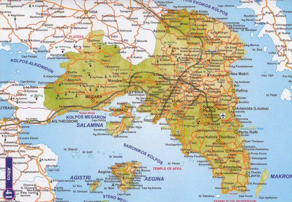 αθηνα χαρτησ Ο χάρτης της Αθήνας | tut.gr αθηνα χαρτησ