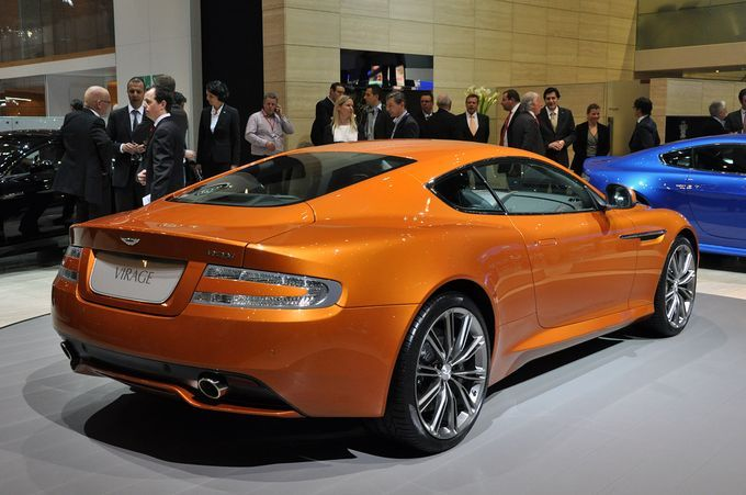 Σαλόνι Αυτοκινήτου Γενεύης 2011-  Aston Martin Virage