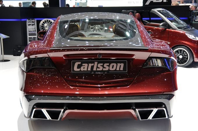 Σαλόνι Αυτοκινήτου Γενεύης 2011 - Carlsson C25 Royale