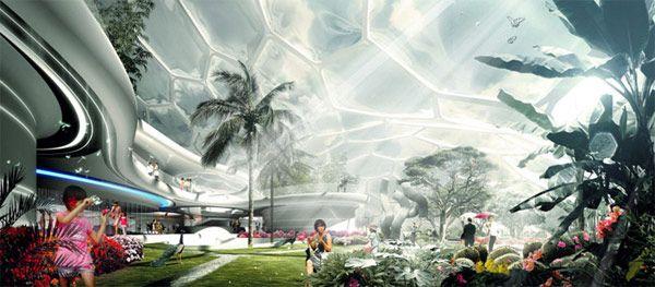 Σπίτι του μέλλοντος της lava