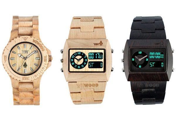 Όμορφα ξύλινα ρολόγια από τη WeWood