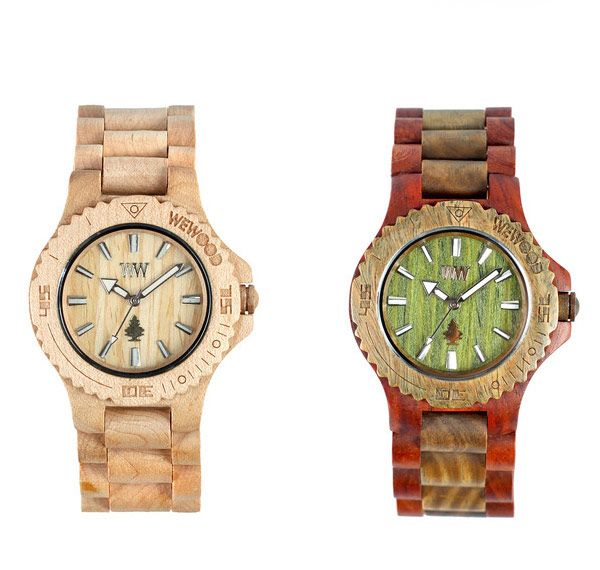 Beautiful Wooden Watches by WeWood