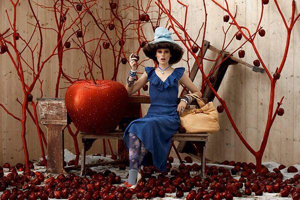 Fairytale Photosession for Fendi