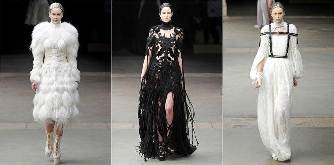 Εβδομάδα μόδας στο παρίσι: alexander mcqueen