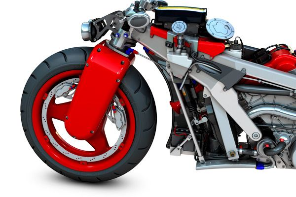 Ferrari V4 Motorcycle