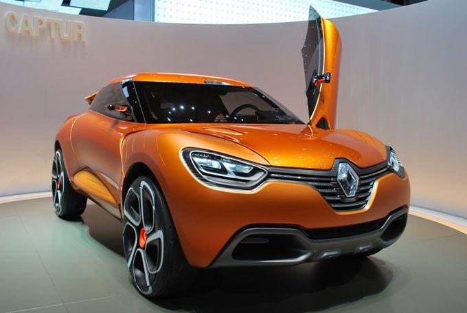 Geneva Motor Show 2011 - Renault Captur