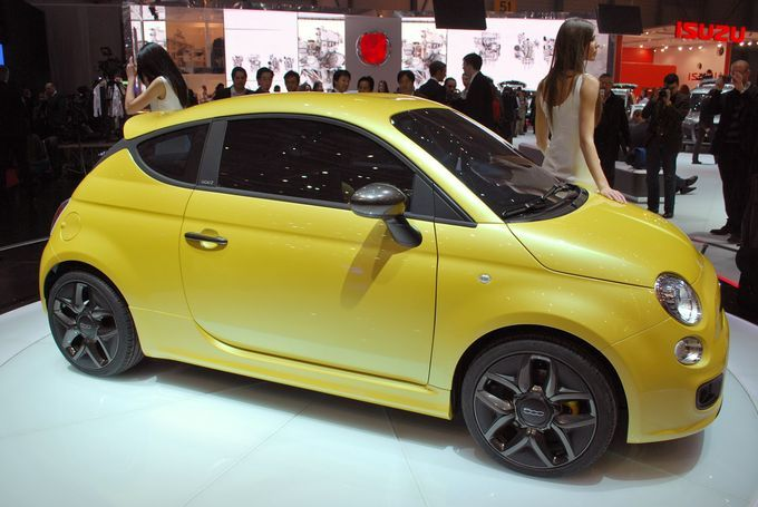 Geneva Motor Show 2011 - Fiat 500 Zagato Coupe
