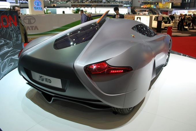 Geneva Motor Show 2011 - IED Abarth Scorp-ion