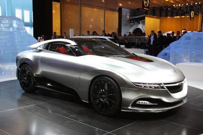 Geneva Motor Show 2011-  Saab PhoeniX