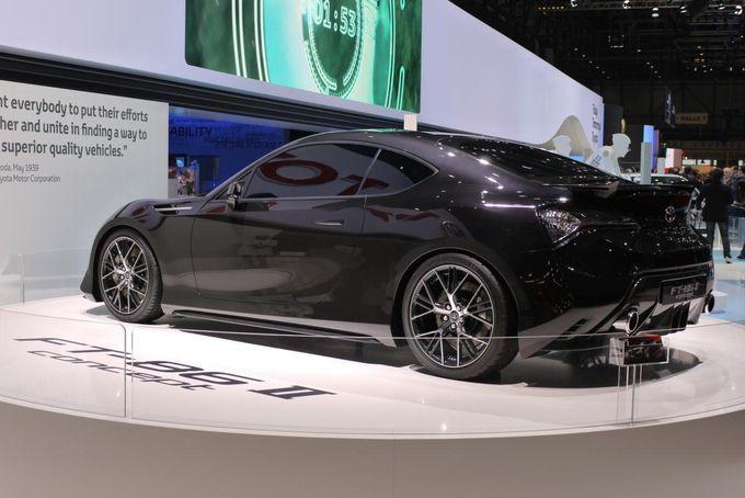 Geneva Motor Show 2011 - Toyota FT-86 II