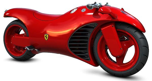 New Ferrari V4 Motorcycle