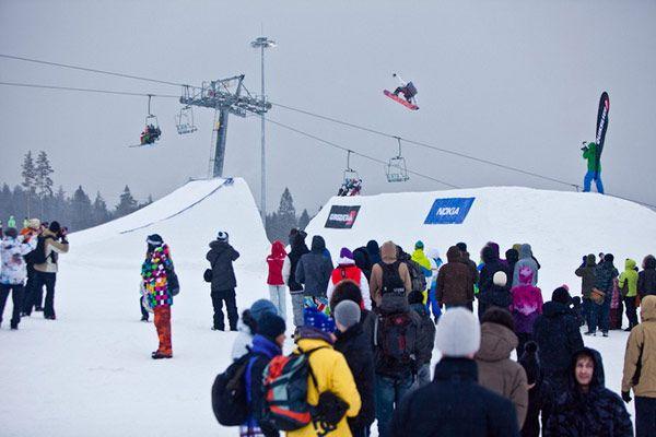 Quiksilver New Star Invitational - Εκδήλωση snowboard της σεζόν