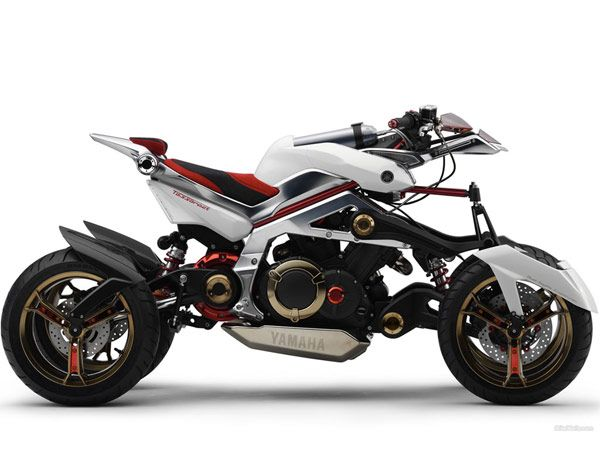 Concept new Yamaha Tesseract
