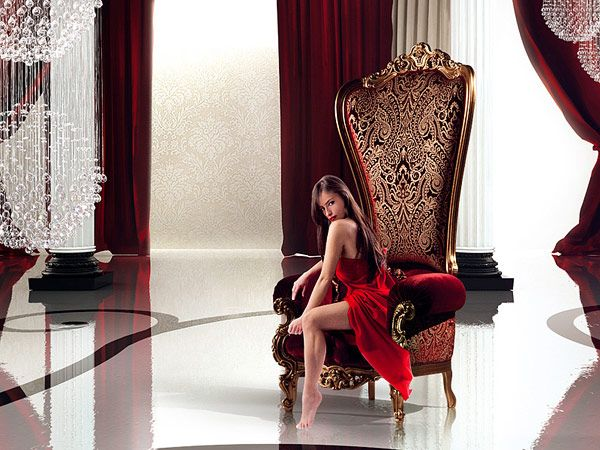The Throne Armchair by Caspani