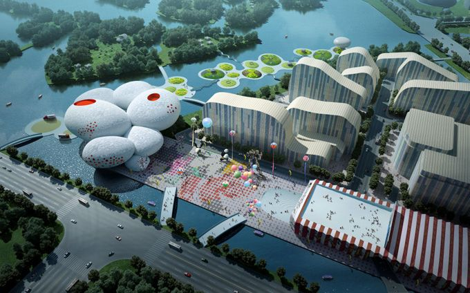 Μουσείο κινουμένων σχεδίων στην Κίνα