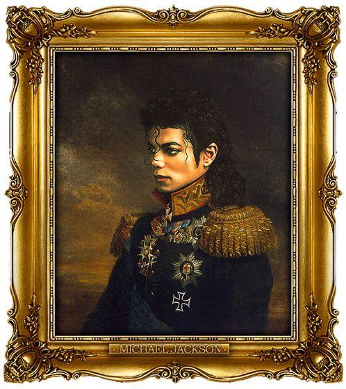 Διασημότητες παρουσιάζονται  ως ρωσική στρατηγοί - Michael Jackson