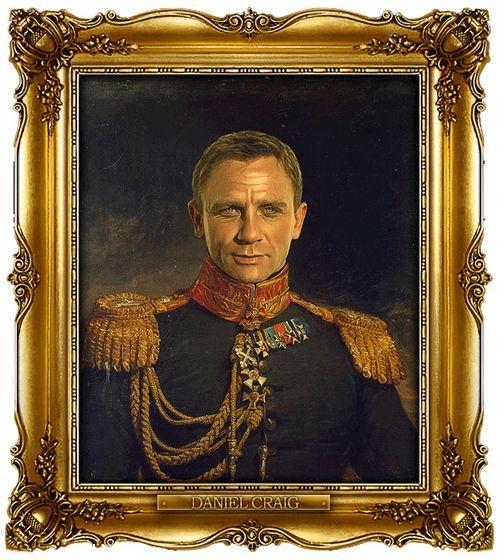 Διασημότητες παρουσιάζονται  ως ρωσική στρατηγοί - Daniel Craig