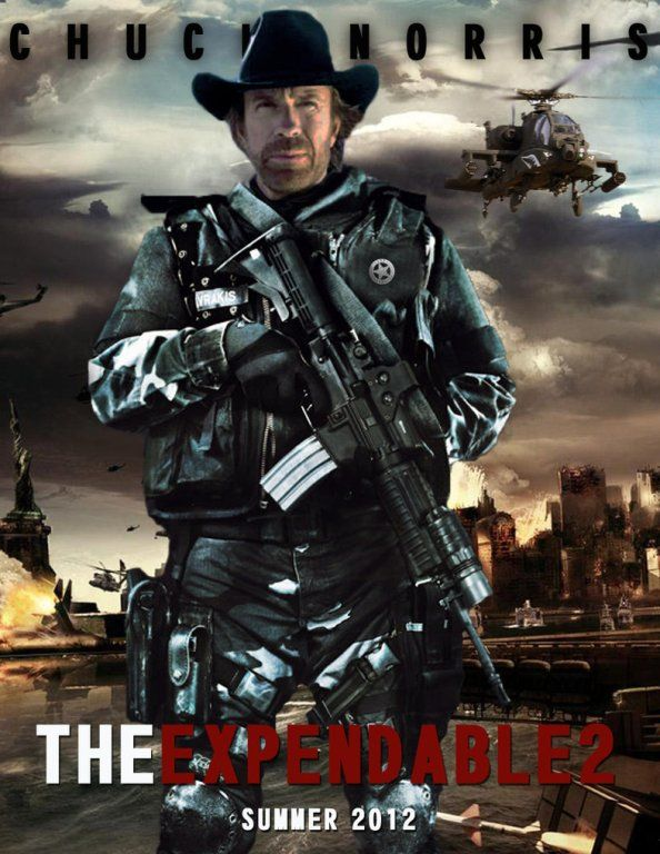 Οι Αναλώσιμοι 2-The Expendables 2-Chuck Norris