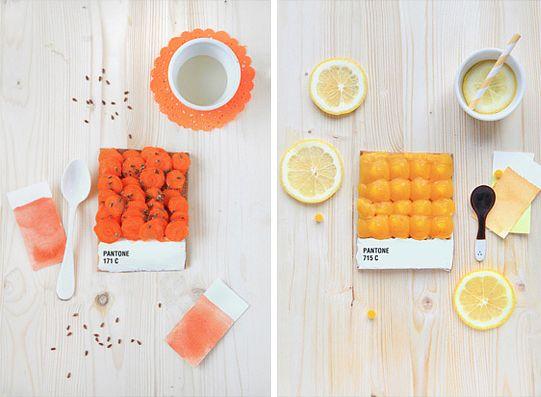 Dessert Pantone Tarts by Emilie de Griottes-05