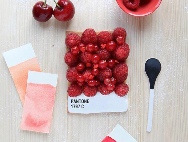 Dessert Pantone Tarts by Emilie de Griottes-general