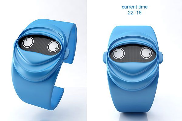 "Cool Watch Concept ""Ninja Time""-02"