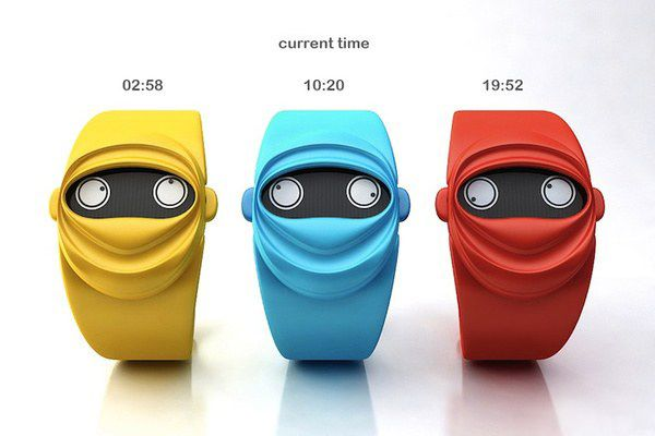 "Cool Watch Concept ""Ninja Time""-04"