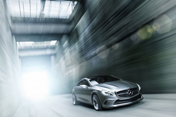 Luxury Mercedes-Benz Style Coupe Concept-01