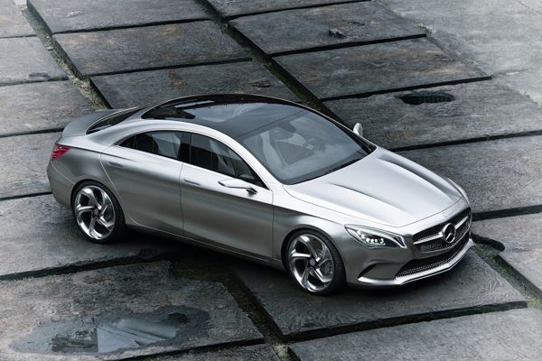 Luxury Mercedes-Benz Style Coupe Concept-02
