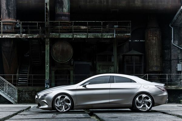 Luxury Mercedes-Benz Style Coupe Concept-05