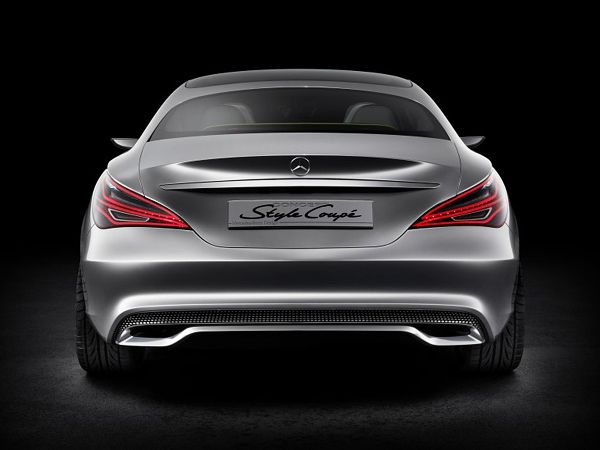 Luxury Mercedes-Benz Style Coupe Concept-13