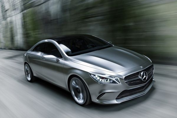 Luxury Mercedes-Benz Style Coupe Concept-general