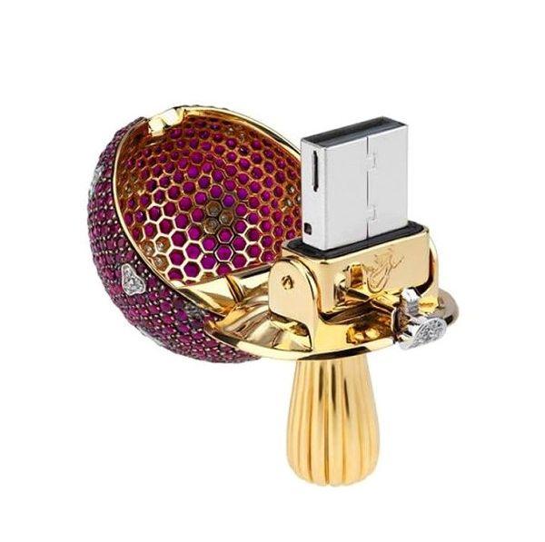 """Luxury USB Key """"Magic Mashrum""""-02"""
