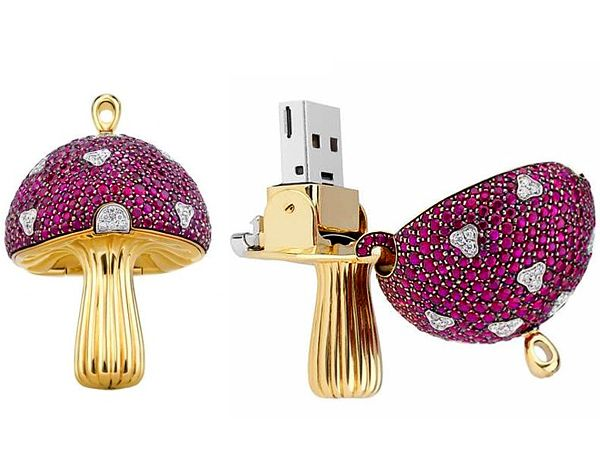 "Luxury USB Key ""Magic Mashrum""-general"