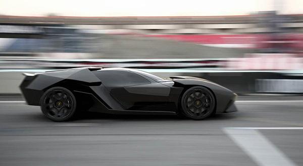 Aggressive Lamborghini Ankonian Concept Car-06