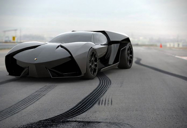 Aggressive Lamborghini Ankonian Concept Car-08