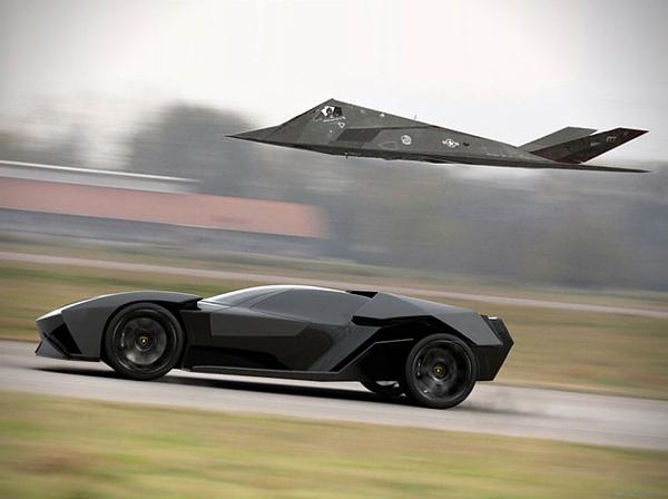 Aggressive Lamborghini Ankonian Concept Car-09