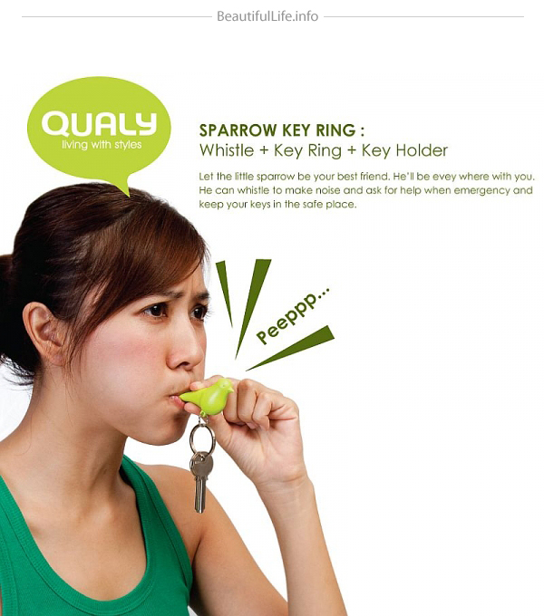 DUO Sparrow Key Ring-06