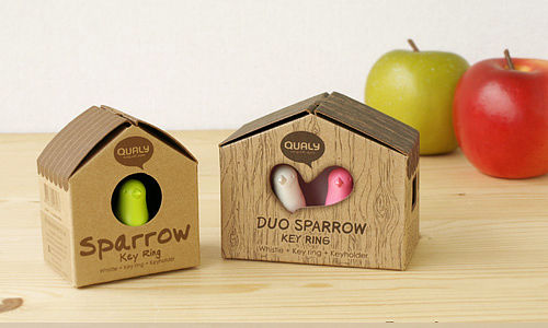 DUO Sparrow Key Ring-09