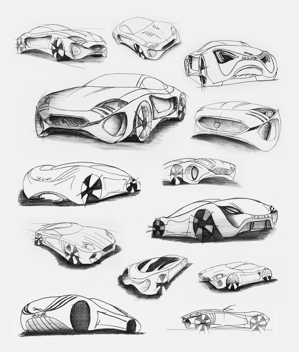 Stunning XKX Jaguar Concept Car-02