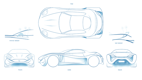 Stunning XKX Jaguar Concept Car-04