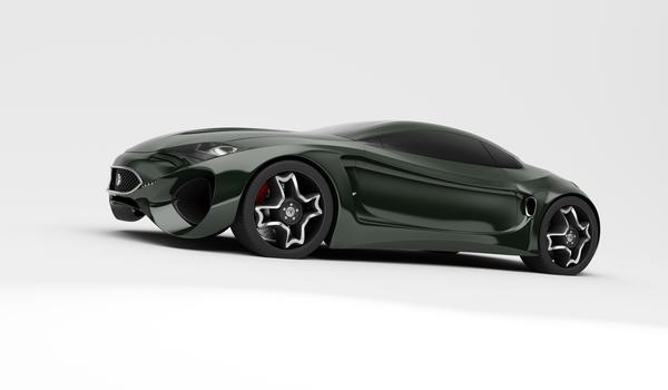Stunning XKX Jaguar Concept Car-10