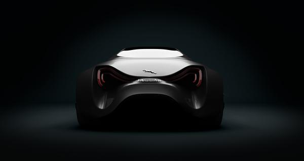 Stunning XKX Jaguar Concept Car-13