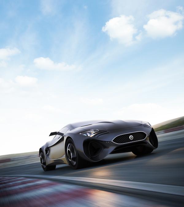 Stunning XKX Jaguar Concept Car-17