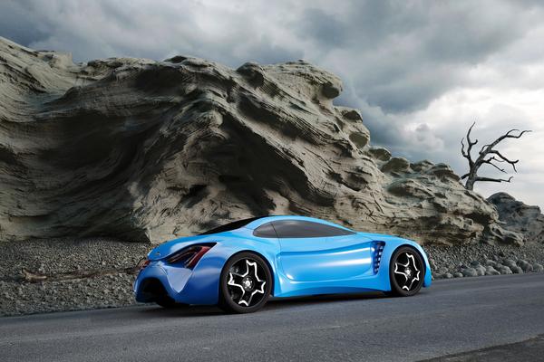 Stunning XKX Jaguar Concept Car-18