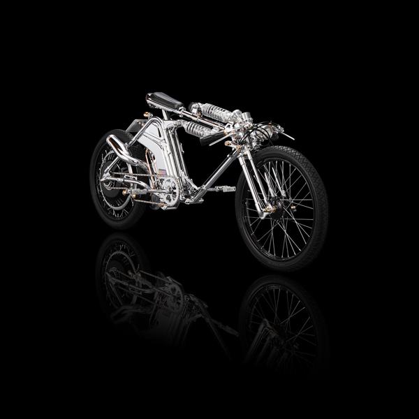 Η Καλλιτεχνική Μοτοσυκλέτα από τον Chicara Nagata