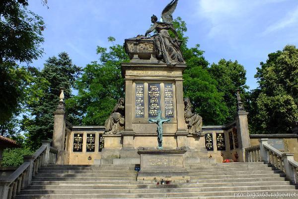 Ένα Ταξίδι στην Όμορφη Τσεχία-Μνημείο Vyšehradský Hřbitov