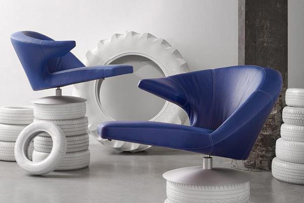 Πολυθρόνα Parabolica από τον Stefan Heiliger